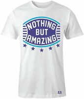 """NOTHING BUT AMAZING"" T-Shirt to Match Retro 10 ""CHARLOTTE"""