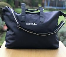 LACOSTE Navy Blue Large Weekend / Travel / Gym / Holdall / Duffle Bag