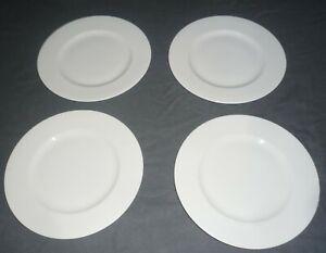 3 x Kuchenteller / Dessertteller, DIBBERN FINE BONE CHINA weiß