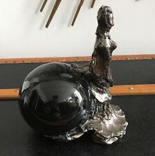 Sculpture Ceramic Jacques and Josette Barber Vintage Design Modernist 1970