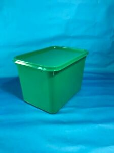 Plastic Storage Containers 50 x 4ltr Rectangular GREEN