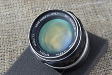 Minolta 58mm 100mm f/1.4 Lens Micro 4/3 FIT Olympus PEN E P 2 3 5 PL camera