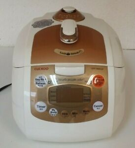 Cuckoo CRP-FA0610F Rice Pressure Cooker 6-Cup Steamer