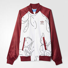 Adidas RITA ORA Jacket superstar supergirl Track sweat shirt firebird~Women sz M