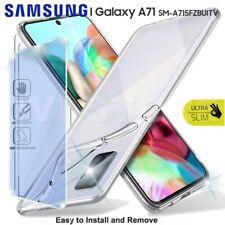 CUSTODIA per SAMSUNG Galaxy A71 Cover TPU + Pellicola VETRO Temperato Protezione