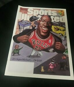 Michael Jordan Sports Illustrated March 10, 1995 original no label Super Michael