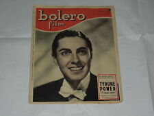 BOLERO FILM DEL 1 FEBBRAIO 1948-TYRONE POWER-MARGA JOYCE, IRENE D'ASFREA, IRMA S