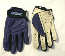 STX Lacrosse Gloves --- Padded top, leather palm:  Women's Size Small