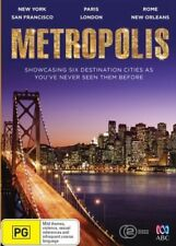 Metropolis ABC Shop Documentary - NY, Paris, London Rome New ExRetail Stock D182