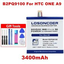 LOSONCOER 3400mAh B2PQ9100 Battery For HTC One A9 Battery A9U A9T A9W A9D