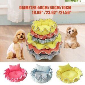 Pet Bed House Dogs Cushion Kennel Pen Sofa Warm Sleeping Bag Sleep Pillow Cave