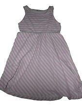 H & M tolles Kleid Gr. 122 / 128 rosa-weiß gestreift !!
