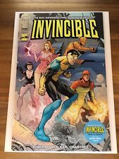 Invincible #1 2021 Amazon Prime Video Edition 2021 Image Comics