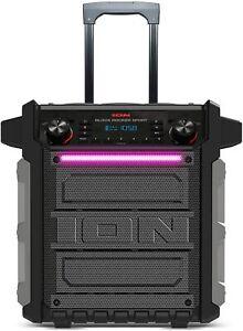 ION Bluetooth Lautsprecher Audio Block 100 Watt wiederaufladbar unvollständig