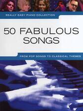 Veramente facile Pianoforte COLLEZIONE: 50 Canzoni Favolose
