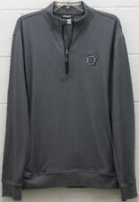 Men's Boston Bruins NHL Pullover Golf Shirt Jacket 1/4 Zip Chevron L Large New