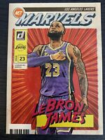 LEBRON JAMES 2019-20 PANINI DONRUSS NET MARVELS INSERT SP LA LOS ANGELES LAKERS