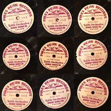 1949 PIKES PEAK RECORDS BUD UDICK TAIT'S ORCHESTRA 1st WESTERN SQUARE DANCE SET