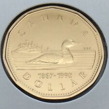 1867-1992 Canada 1 One Dollar Loonie Canadian Brilliant Uncirculated Coin G540