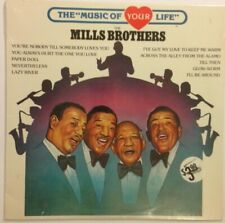 Mills Brothers The Music of Your Life vinyl LP Sealed Mint 1983 Jazz Compilation