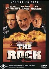 The Rock (DVD, 2001)*R4*Sean Connery*Terrific Condition