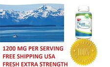 Krill Oil 60 Softgels Professional Formula Mega 1200 MG Pure Antarctic Red
