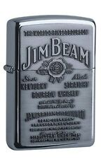 Zippo Jim Beam Label chrome