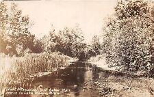LAKE TASCA MINN INFANT MISSISSIPPI RIVER  BELOW SOURCE REAL PHOTO POSTCARD c1926