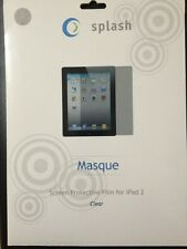 SPLASH MASQUE 3 Pck Clear Sreen Protective Film For Ipad 2
