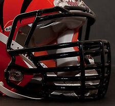 *CUSTOM* CINCINNATI BENGALS Riddell SPEED Football Helmet Facemask - BLACK