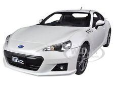 SUBARU BR-Z WHITE 1/18 DIECAST CAR MODEL BY AUTOART 78693
