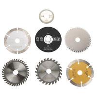 7pcs Kreissägeblatt Rotary Trennscheibe Sägeblatt Set 85 * 15mm für Metall Holz