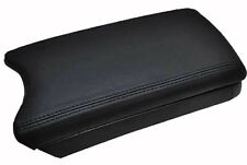 Synthetic Leather Center Console Lid Armrest Cover BLACK Fits 10-15 Toyota Prius