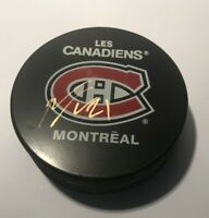 Tomas Tatar Montreal Canadiens Signed Autographed Puck