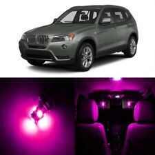 16 x Error Free Pink LED Interior Light Kit For 2011-2015 BMW X3 Series + TOOL