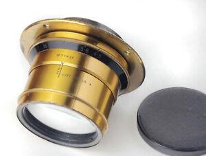 Beautiful, Rare T.T.H. Cooke adjustable soft focus lens. Focal length 10.5 Inch,