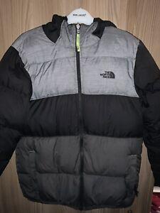 North Face Boys Reversible Coat 14 - 15 Xl Winter Designer Childs Coat