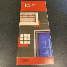 IBM Personal Computers Hardware Facts 5150 PCjr vintage marketing brochure