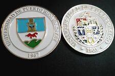 UNIVERSIDAD DE PUERTO RICO UPR CAYEY University College Campus medal TORITOS