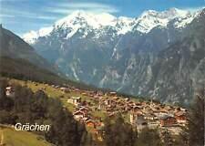 B110276 Switzerland Grachen Wallis, Weisshorn, Brunegghorn Bishorn Panorama