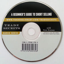 Audito CD: A BEGINNER'S GUIDE TO SHORT SELLING by Toni Turner * 1 Disc NEW