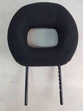 PEUGEOT 206CC 00-08 FRONT DRIVER PASSENGER LEFT RIGHT HEADREST BLACK CLOTH
