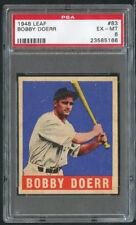 1948 Leaf #63 Bobby Doerr HOF PSA 6 - High End