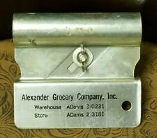 KUTTO JR. THE MODERN SPEC. CARTON OPENER ALEXANDER GROCERY COMPANY UNITED STATES