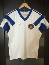 USA NATIONAL TEAM 80s 1990 HOME SHIRT JERSEY ADIDAS RARE VINTAGE