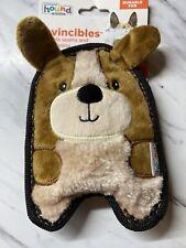 Outward Hound Invincibles Corgi Dog Toy - No Stuffing - Squeaker Puppy