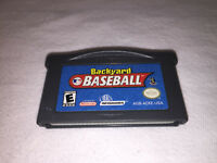Backyard Baseball (Nintendo Game Boy Advance, 2002) GBA Game Excellent!