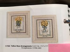 Yellow Rose Arrangements Pair Framed Print Home Interiors & Gifts