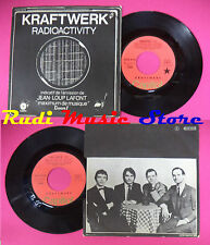 LP 45 7'' KRAFTWERK Radioactivity Antenna 1976 france CAPITOL no cd mc dvd