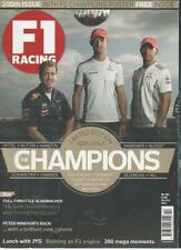 F1 RACING MAGAZINE October 2012 No. 200 200th Issue The Champions AL